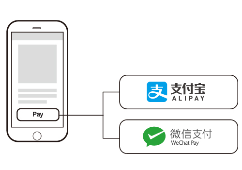 install alipay and wechat pay into mobile website