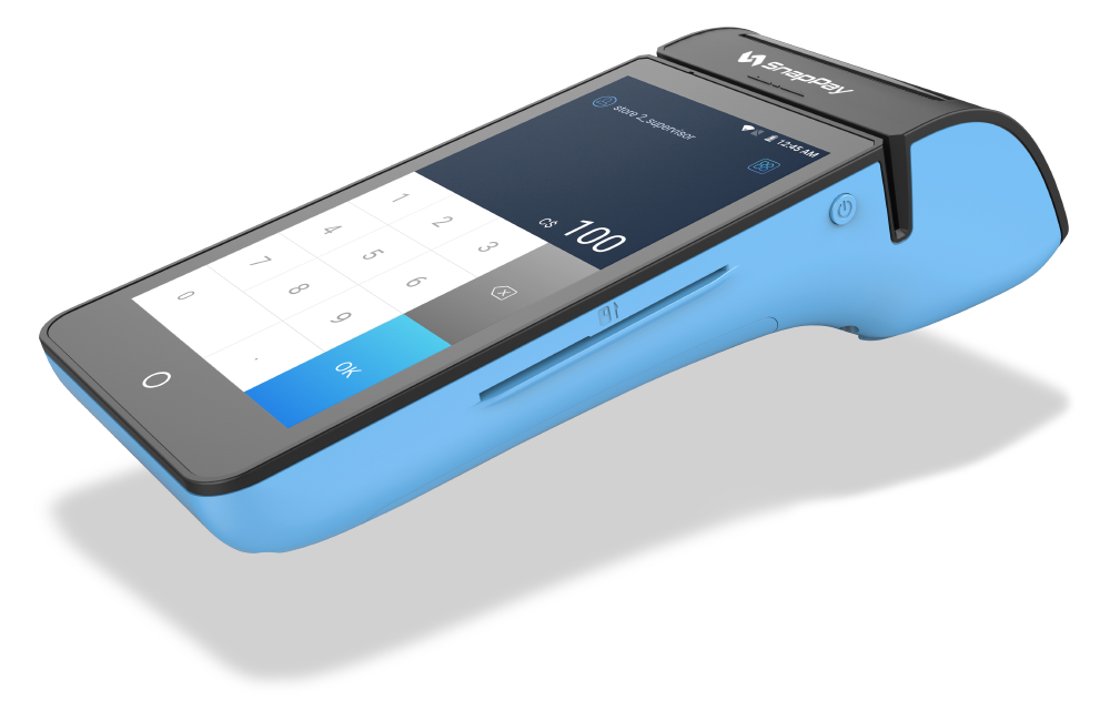 blue snappay stand-alone device